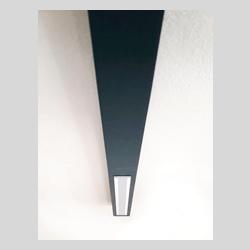 Lampada da soffitto, binario led componibile