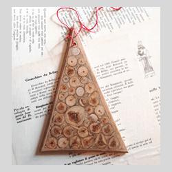 Addobbo natalizio in legno